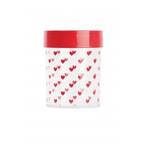 Miss Etoile, Red Heart Canister, Small