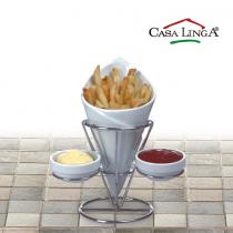 Casa Linga, Fries Stand, Plain