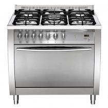 Lofra Cooker, 4 Burners, 90 Liters, Silver - CG96G2VG/Ci
