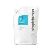 simplehuman Fragrance Free Moisturizing Liquid Hand Soap 1L. Refill Pouch