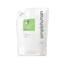 simplehuman cucumber moisturizing liquid hand soap 1L. refill pouch