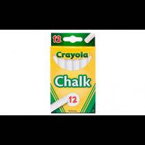 Crayola, 12 Anti Dust Chalk, White