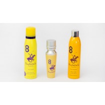 Beverly Hills Polo Club Sports No8 Gift Set, Eau De Parfum 50ml+Shower Gel+Deodorant