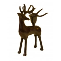 Gifts & More, Black Deer Candle Holder