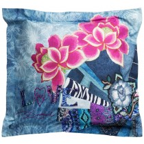 Desigual, Pillow Square Denim Folk, 65 x 65 cm
