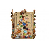 Gifts & More, Trees in Beads Cubic Holder