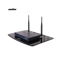 Conqueror Wall-Mounted Single Shelf for DVD player / AV component / cable box / TV accessories / Projector - H141