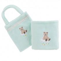 Carré Blanc, Gabin ,Baby Blanket With Bag , 70X100