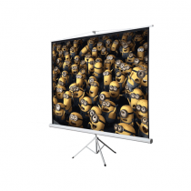 "Conqueror Projection Screen  170""  with Tripod  -  HPSC4"