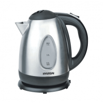Hyundai Electric Kettle 2200W Black - Stainless Steel - HY-K170S