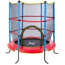 Topten Oypla 55 inch Kids First Trampoline with Safety Net Enclosure