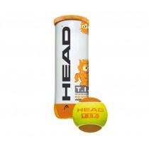 Head, Tennis Ball 6DZ, Orange, 578123