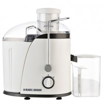 Black & Decker, Juice Extractor With Wide Chute, White, 400W  - JE400-B5