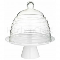 Kitchen Craft, Sweetly Does It Glass Dome Cake Stand