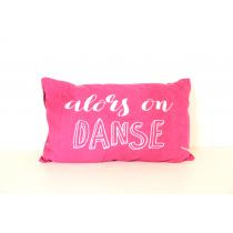 Ligne Décor 2017, Printed Pacifique Pink Danse Cushion, 30 x 50 cm