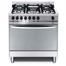 Lofra Cooker, 4 Burners, 90 Liters, Silver - MSG96G2VG/Ci