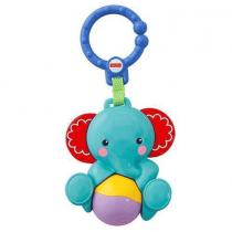 Fisher-Price Blue Elephant Teether