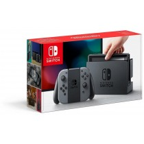 Nintendo Switch, 32 GB, Grey with FREE Bag and Screen Protector