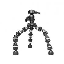 Top tripod Bower Flexible Mini-Bendipod for Digital Camera - Black - P609