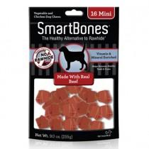 SmartBones Beef classic bone chews, Mini, 16 pieces
