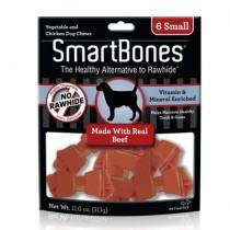 SmartBones Beef  classic bone chews, Small, 6 pieces