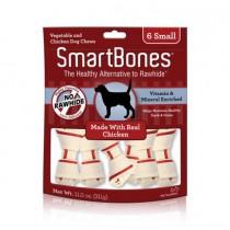 SmartBones Chicken classic bone chews, Small, 6 pieces