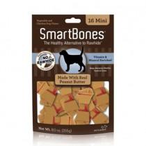 SmartBones Peanut Butter classic bone chews, Mini, 16 pieces