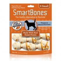 SmartBones Sweet Potato classic bone chews, Small, 6 pieces
