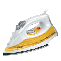 Sencor, Steam Iron, 1600W, White/Orange, SSI 2028YL
