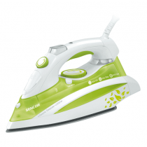 Sencor, Steam Iron , 2200 W, White/Green, SSI 844GR