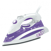 Sencor, Steam Iron , 2200 W, White/Purple, SSI 8441VT