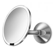 simplehuman, 20cm wall mount sensor mirror 5x magnification