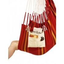 La Siesta, Util Ecru Organic Cotton Hammock Utility Pocket