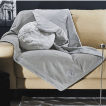 V1969, Venice Argento, Blanket, 180x160 cm