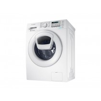 Samsung Front Load, Eco Bubble, Add Wash, 9 KG, 1200 RPM, White - WD80J5410AW/FH