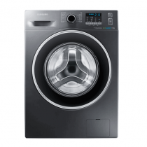 Samsung, ECO BUBBLE WASHING MACHINE, 7 KG, Silver - WF70F5EHW4X/FH