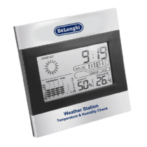 Delonghi Digital weather station temperature and humidity display - WS51207