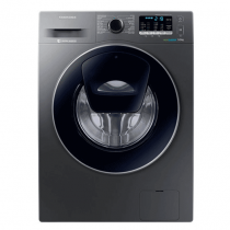 Samsung, Bubble shots Add Wash, Silver - WW90K5210UX/FH