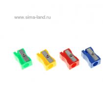 Erichkrause, Eraser Hybrid, Sharpener, Pack of 24 metal silver