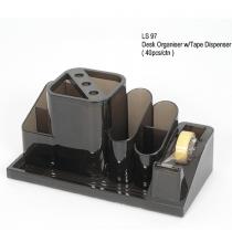 Elsoon, Desk Organizer, Tape Dispenser, Pack of 1