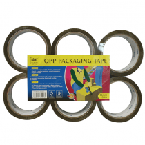 Kl&Ling, Packaging Tape, 48 Mm, 6 Packets