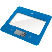 Sencor, Kitchen Scale, Blue
