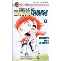 Captain Tsubasa World Youth, tome 4 : En route vers les rêves !!