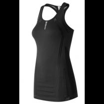 New Balance, Women's New Balance M4M Seamless Breathe Tank, Black