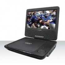 Coby 7-Inch Portable DVD/CD/MP3 Player, Black - D12