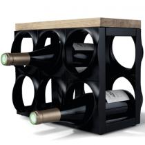 Nuance, Wine Rack, Black