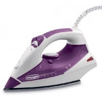 Delonghi EasyCompact Steam Iron, 2000 Watts, Purple - FXK20C