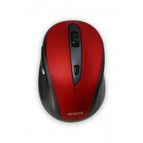 Iconz Wireless 6-buttons Mouse Rubberized Metallic Paint, Rubber Finish - IMN-WM03R