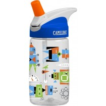 Camelbak, Eddy Kids Atomic Robots, 400ml spill proof drinking bottle