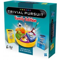 Family ,  Trivial Pursuit,  Family Refresh,  English Board Game